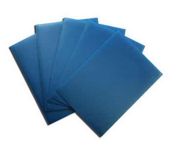 Fundas de color azul